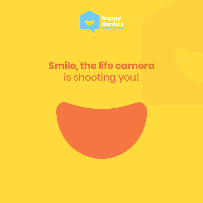 Smile, the life camera is shooting you!